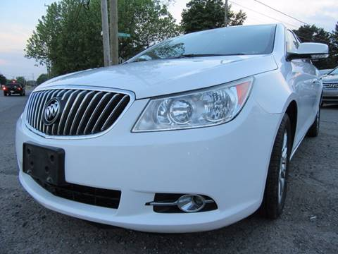 2013 Buick LaCrosse for sale at PRESTIGE IMPORT AUTO SALES in Morrisville PA
