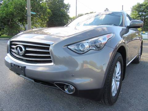2013 Infiniti FX37 for sale at PRESTIGE IMPORT AUTO SALES in Morrisville PA