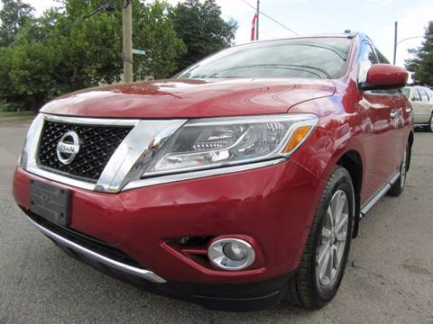 2015 Nissan Pathfinder for sale at PRESTIGE IMPORT AUTO SALES in Morrisville PA