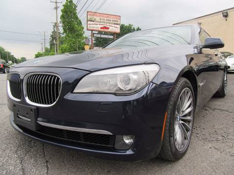2012 BMW 7 Series for sale at PRESTIGE IMPORT AUTO SALES in Morrisville PA