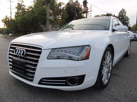 2014 Audi A8 L for sale at PRESTIGE IMPORT AUTO SALES in Morrisville PA