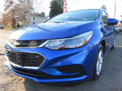 2017 Chevrolet Cruze for sale at PRESTIGE IMPORT AUTO SALES in Morrisville PA