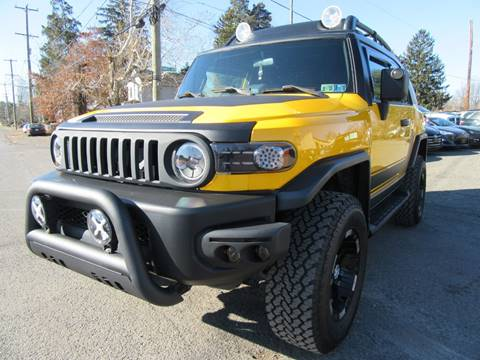 2007 Toyota FJ Cruiser for sale at PRESTIGE IMPORT AUTO SALES in Morrisville PA