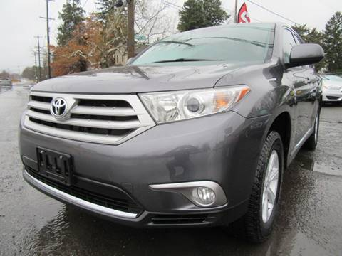 2013 Toyota Highlander for sale at PRESTIGE IMPORT AUTO SALES in Morrisville PA