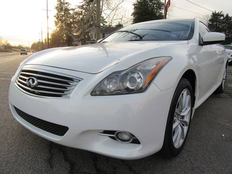 2011 Infiniti G37 Coupe for sale at PRESTIGE IMPORT AUTO SALES in Morrisville PA