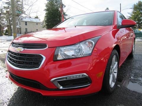 2015 Chevrolet Cruze for sale at PRESTIGE IMPORT AUTO SALES in Morrisville PA