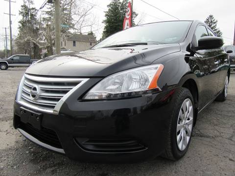 2013 Nissan Sentra for sale at PRESTIGE IMPORT AUTO SALES in Morrisville PA