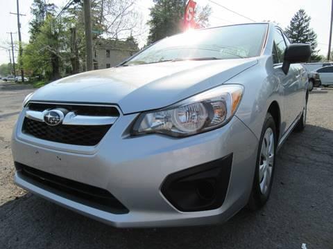 2014 Subaru Impreza for sale at PRESTIGE IMPORT AUTO SALES in Morrisville PA