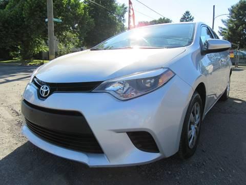 2014 Toyota Corolla for sale at PRESTIGE IMPORT AUTO SALES in Morrisville PA
