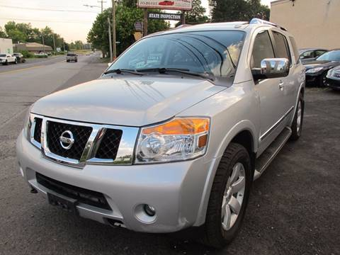 2011 Nissan Armada for sale at PRESTIGE IMPORT AUTO SALES in Morrisville PA