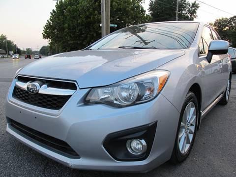 2012 Subaru Impreza for sale at PRESTIGE IMPORT AUTO SALES in Morrisville PA