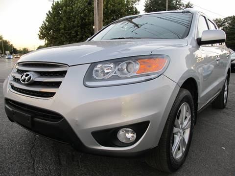 2012 Hyundai Santa Fe for sale at PRESTIGE IMPORT AUTO SALES in Morrisville PA