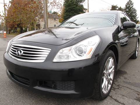 2007 Infiniti G35 for sale at PRESTIGE IMPORT AUTO SALES in Morrisville PA