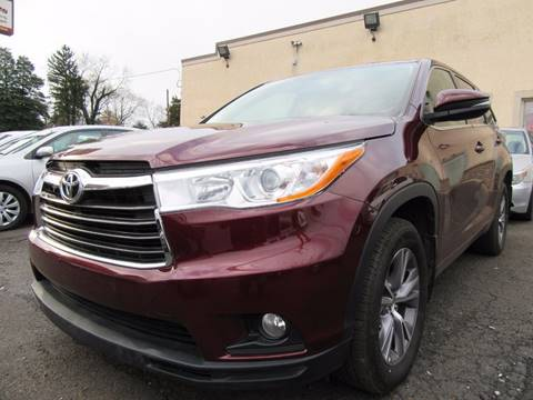 2016 Toyota Highlander for sale at PRESTIGE IMPORT AUTO SALES in Morrisville PA