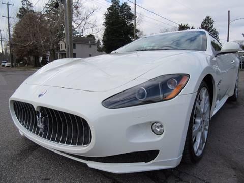 2012 Maserati GranTurismo for sale at PRESTIGE IMPORT AUTO SALES in Morrisville PA