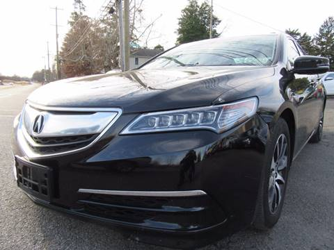2015 Acura TLX for sale at PRESTIGE IMPORT AUTO SALES in Morrisville PA