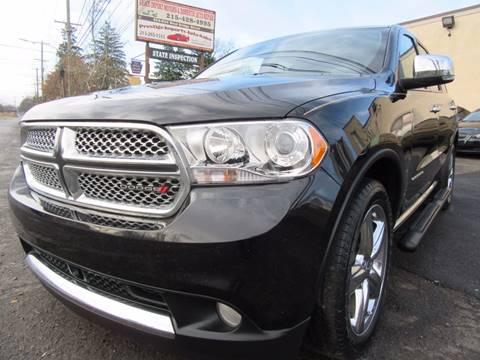 2013 Dodge Durango for sale at PRESTIGE IMPORT AUTO SALES in Morrisville PA