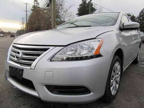 2015 Nissan Sentra for sale at PRESTIGE IMPORT AUTO SALES in Morrisville PA