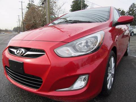 2012 Hyundai Accent for sale at PRESTIGE IMPORT AUTO SALES in Morrisville PA