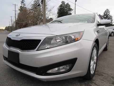 2013 Kia Optima for sale at PRESTIGE IMPORT AUTO SALES in Morrisville PA