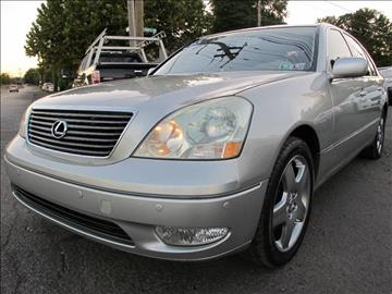 2003 Lexus LS 430 for sale at PRESTIGE IMPORT AUTO SALES in Morrisville PA