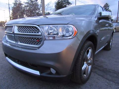 2012 Dodge Durango for sale at PRESTIGE IMPORT AUTO SALES in Morrisville PA