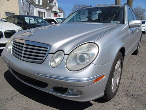 2004 Mercedes-Benz E-Class for sale at PRESTIGE IMPORT AUTO SALES in Morrisville PA