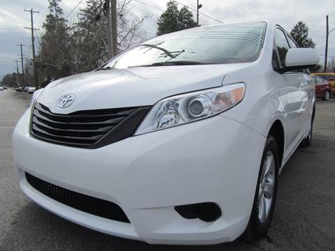 2012 Toyota Sienna for sale at PRESTIGE IMPORT AUTO SALES in Morrisville PA