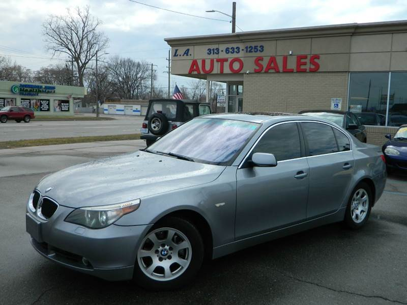2004 BMW 5 Series In Lincoln Park MI - L.A. Trading Co.