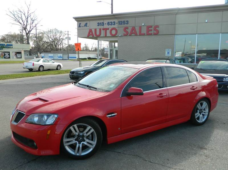 2008 Pontiac G8 In Woodhaven MI - L.A. Trading Co.