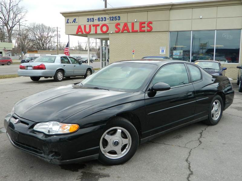 2003 Chevrolet Monte Carlo For Sale At L.A. Trading Co. In Woodhaven MI