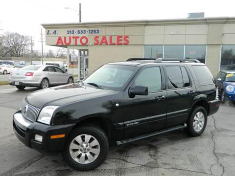2007 Mercury Mountaineer for sale in Lincoln Park, MI