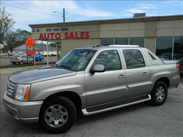 2002 Cadillac Escalade EXT for sale in Lincoln Park, MI