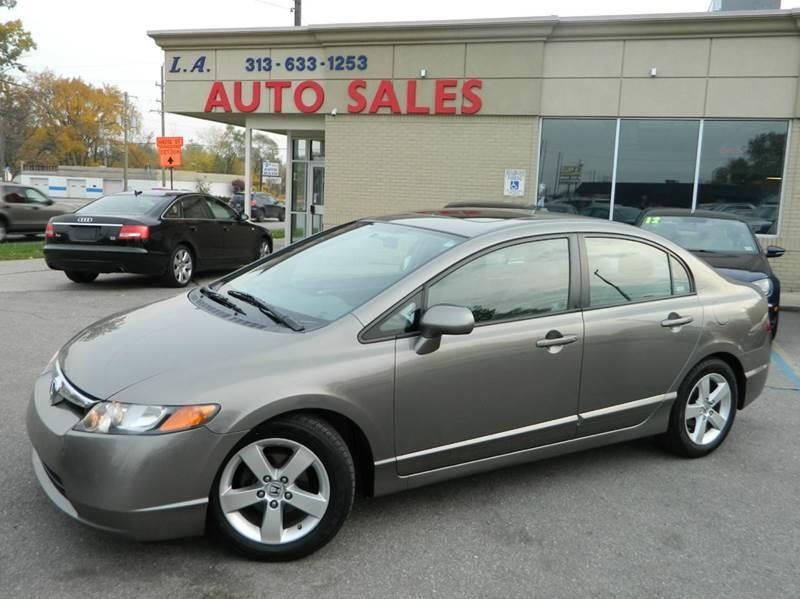 Awesome 2008 Honda Civic For Sale At L.A. Trading Co. In Woodhaven MI