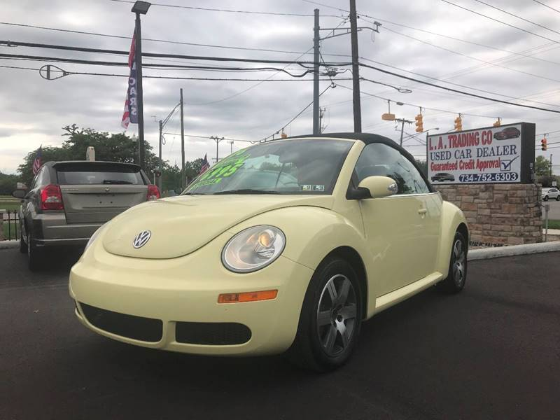 2006 Volkswagen New Beetle for sale at L.A. Trading Co. in Woodhaven MI