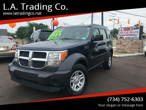 2008 Dodge Nitro for sale at L.A. Trading Co. Woodhaven in Woodhaven MI