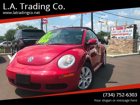 2010 Volkswagen New Beetle for sale at L.A. Trading Co. in Woodhaven MI