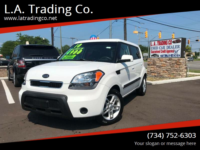 2010 Kia Soul for sale at L.A. Trading Co. Woodhaven in Woodhaven MI