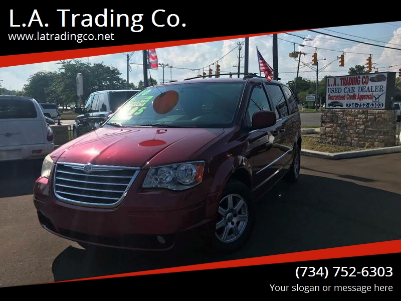 2010 Chrysler Town and Country for sale at L.A. Trading Co. in Woodhaven MI