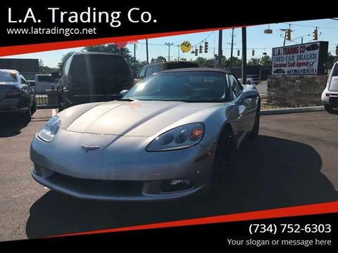 2005 Chevrolet Corvette for sale at L.A. Trading Co. in Woodhaven MI