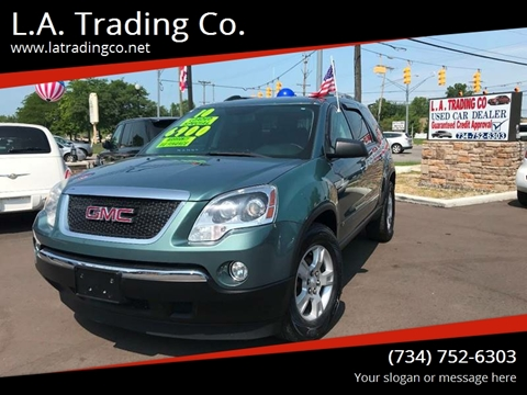 2010 GMC Acadia for sale at L.A. Trading Co. in Woodhaven MI