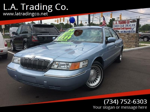 2000 Mercury Grand Marquis for sale at L.A. Trading Co. in Woodhaven MI
