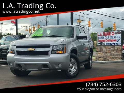 2010 Chevrolet Tahoe for sale at L.A. Trading Co. in Woodhaven MI