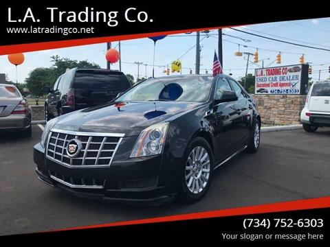 2012 Cadillac CTS for sale at L.A. Trading Co. in Woodhaven MI