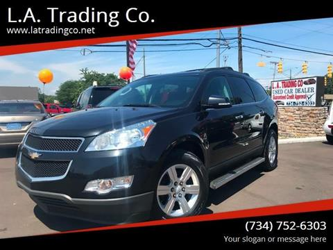 2012 Chevrolet Traverse for sale at L.A. Trading Co. in Woodhaven MI