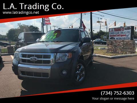2010 Ford Escape for sale at L.A. Trading Co. in Woodhaven MI
