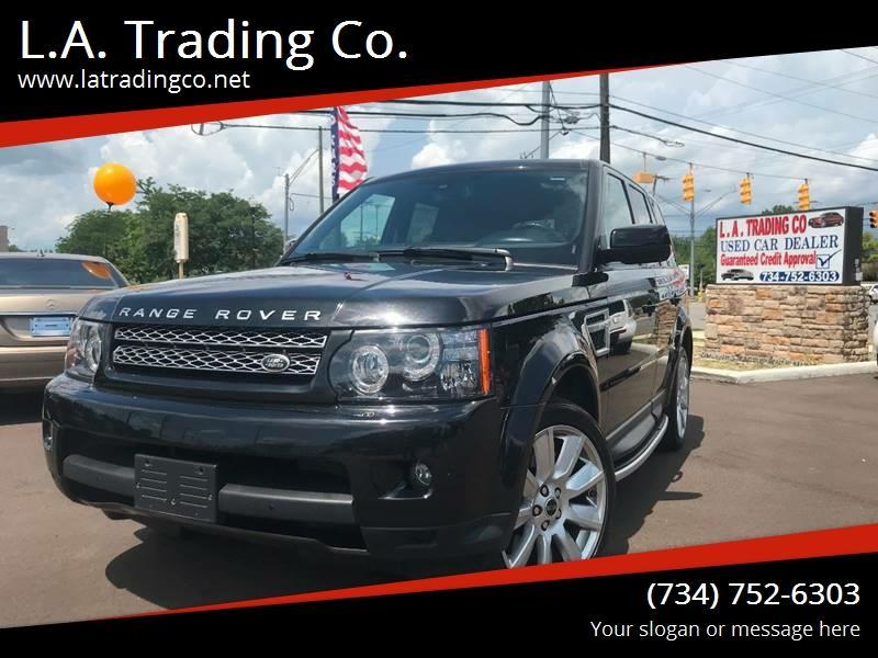 2013 Land Rover Range Rover Sport for sale at L.A. Trading Co. Woodhaven in Woodhaven MI