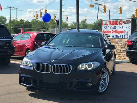 2011 BMW 5 Series for sale at L.A. Trading Co. in Woodhaven MI