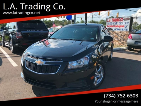 2012 Chevrolet Cruze for sale at L.A. Trading Co. in Woodhaven MI