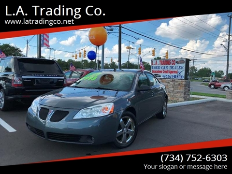 2008 Pontiac G6 for sale at L.A. Trading Co. in Woodhaven MI